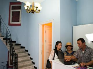 Alhambra Residence is set in a restored Ottoman ma, Istambul