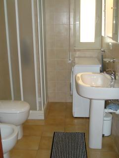 One of two fully appointed bathrooms