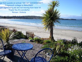 Frogmouth Cottage- Live right on the beach, Hobart