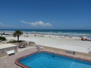 View to the North from Large Private Oceanfront Balcony of 2nd Floor Unit