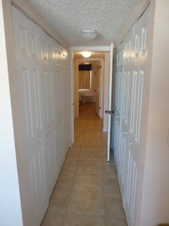 Master Bedroom Suite Closets - Plenty of Closet Space