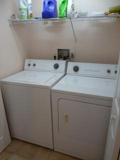 Washer/Dryer Closet of 2nd Floor Unit