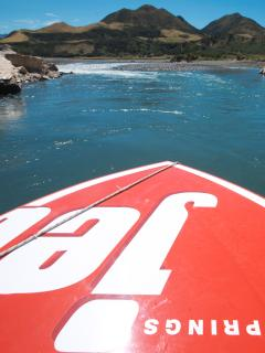 Enjoy a jet boat ride on the Waiau river