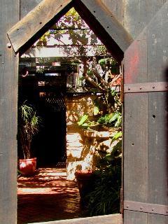 Enter this magical place through the 'hobbit' door