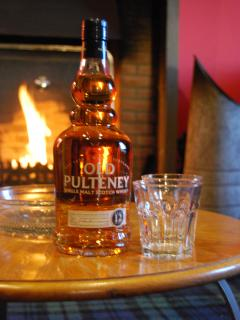 And then relax with your complimentary bottle of local whisky!