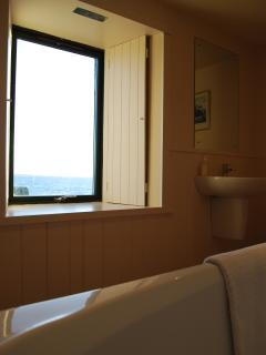 The bath with a view!