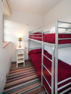 Dormitorio del apartamento AGUA