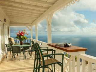 Spyglass - Saba villa with breath-taking view