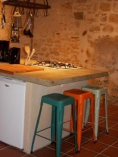 the kitchen island