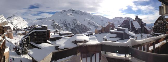 Vue panoramique 180 degrés (18.1.2015)
