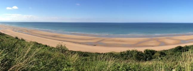 Omaha Beach--about 6 km from us.