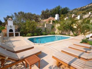 3 Bedroom kalkan villa rental with seaview, private pool and 10 minutes walking