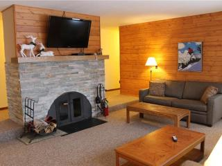 Located at Base of Powderhorn Mtn in the Western Upper Peninsula, A Pleasant Trailside Home with Hot Tub, Brick Fireplace & Allows Dogs, Bessemer