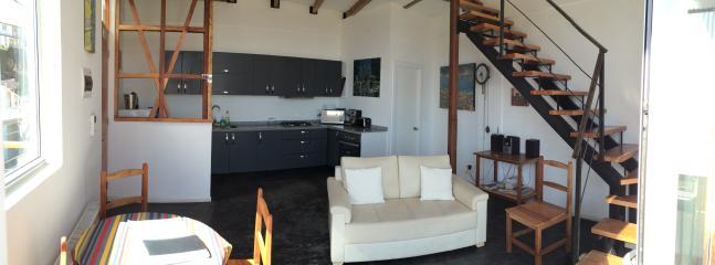 Bright modern living room Ecco duplex apartment #1