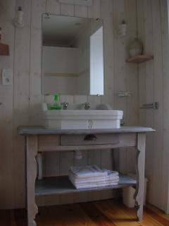 salle d'eau à l' étage