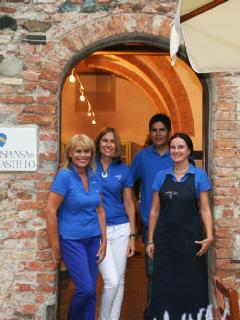 Staff at Castello Ginori Querceto
