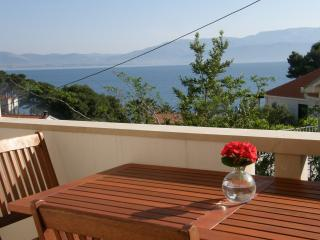 Zava apartment - balcony with stunning sea view, Sutivan