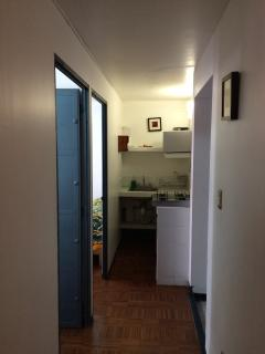 Apartment and kitchenette