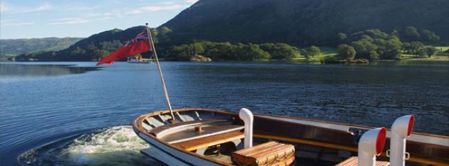 The steamer on Ullswater