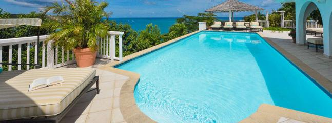 SPECIAL OFFER: St. Martin Villa 56 Panoramic Views Of The Caribbean Baie Rouge Beach From The Gazebo, Pool Deck And Glassed-in Living Areas., Terres-Basses