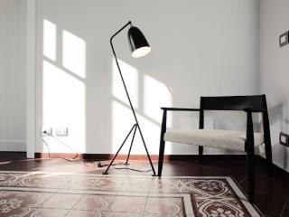 Living Detail - Lamp&chair