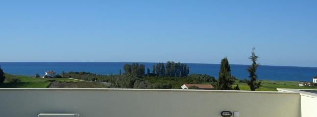 Panoramic view from the roofgarden