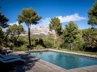 Magical Glass Villa facing the Sainte-Victoire