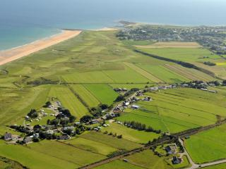 Aerial view of Dalchalm looking south