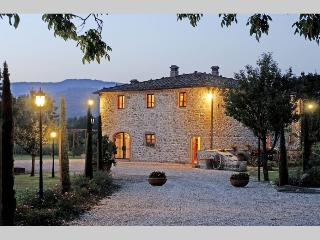 Podere Chianti, elegant Villa in the true Chianti.