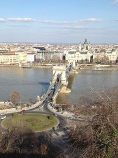 Pest view/ Chain Bridge