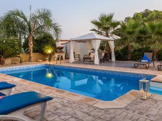 Oceanview Villa 120 - spacious pool and patio area