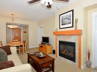 Gas fireplace and cozy furnishings