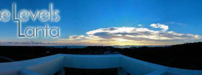Panoramic, sunset, sea-views | The Levels | luxury, sea-view, villa for rent, Koh Lanta, Thailand