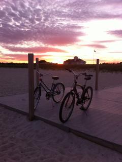 Bikes at Seagull Beach