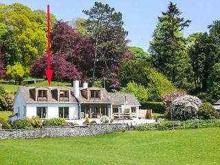 ESTHWAITE MUSE, first floor apartment, en-suites, WiFi, lake views, in Sawrey, Near Sawrey