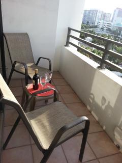 enjoy great balcony view