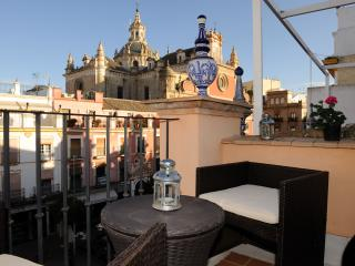 Wonderful Duplex Terrace Center Of Seville  wifi., Sevilha