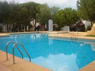 Bungalow con acceso directo a piscina