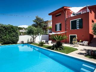 Villa with pool and sea view in Trapani area