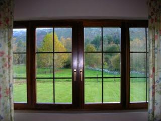 Vista al exterior desde el salón