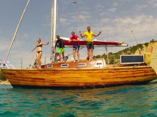 Sailing Kefalonia on a Classic Wooden Yacht