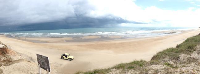 spiaggia vista da casa