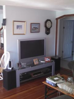 Living room with 42 inch TV