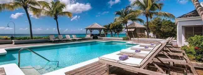 SPECIAL OFFER: St. Martin Villa 125 An Idyllic Beachfront Property Located On One Of St. Martin's Finest Beaches, Beautiful Baie Longue., St. Maarten/St. Martin