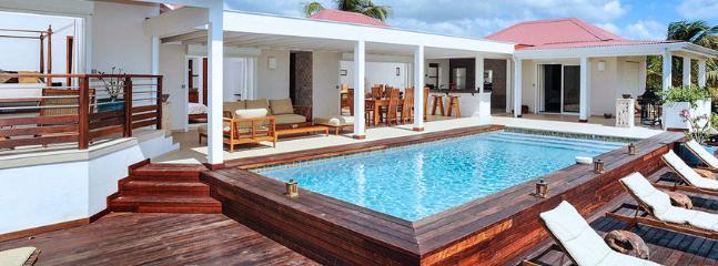 SPECIAL OFFER: St. Martin Villa 40 A New, Spacious And Elegant Three-bedroom Villa Overlooking The Caribbean Sea., Terres Basses