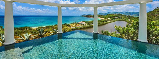 St. Martin Villa 268 Spectacular Views Combined With The Soft Sea Breezes Transform This Villa Into The Perfect Romantic Hideaway., Terres Basses