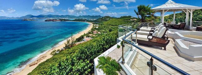 SPECIAL OFFER: St. Martin Villa 29 The Villa Offers A Lot Of Privacy And Beautiful Views Over The Ocean. Can Be Rented As A 3 Or A 5 Bedroom Villa., Terres Basses