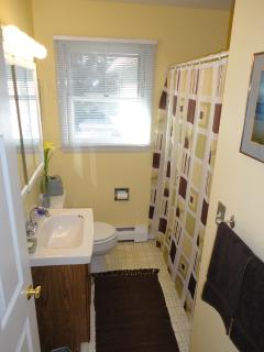 Second full bathroom in hallway for 2nd bedroom and Media Room if used as a 3rd bedroom.