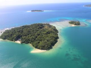 Malvanua Island from the air