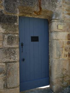 Porte d'entrée Rue de Malte